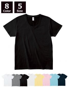 4.3oz スリムフィット Uネック Tシャツ