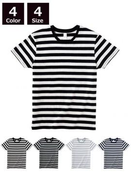 4.3oz ボーダー Tシャツ