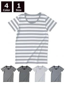 4.3oz ウィメンズボーダー Tシャツ