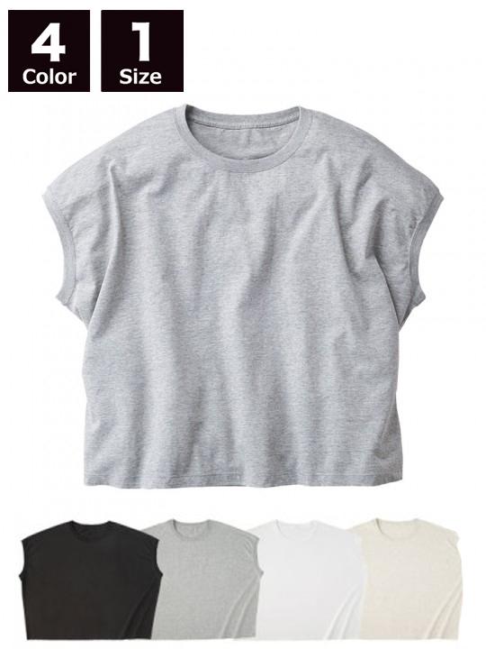 WNS807 スリーブレス ワイド Tシャツ