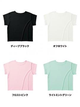 WRU806 ウィメンズ ロールアップ  Tシャツ カラー一覧