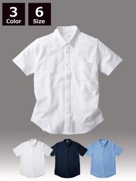 BNS266 ビズスタイル ニットシャツ