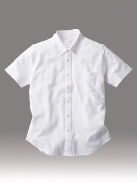 BNS266 ビズスタイル ニットシャツ 拡大