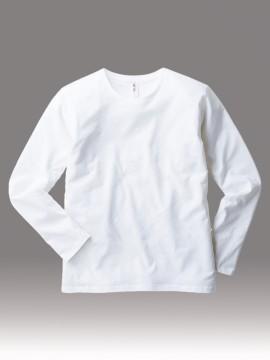SFL110 スリムフィット ロングスリーブTシャツ 拡大