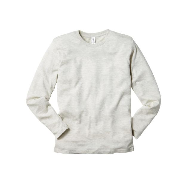 4.3oz トライブレンド ロングスリーブ Tシャツ