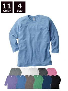 TBL118 トライブレンド3/4スリーブTシャツ