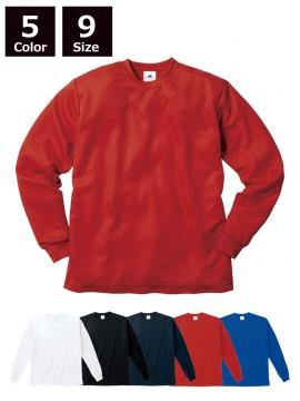 4.1ozファイバードライ ロングスリーブ Tシャツ