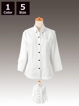 BS-24213 ボタンダウンシャツ 白 トップス