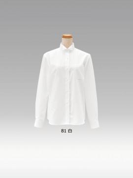 BS-14221 ウィングカラーシャツ(レディース) カラー一覧