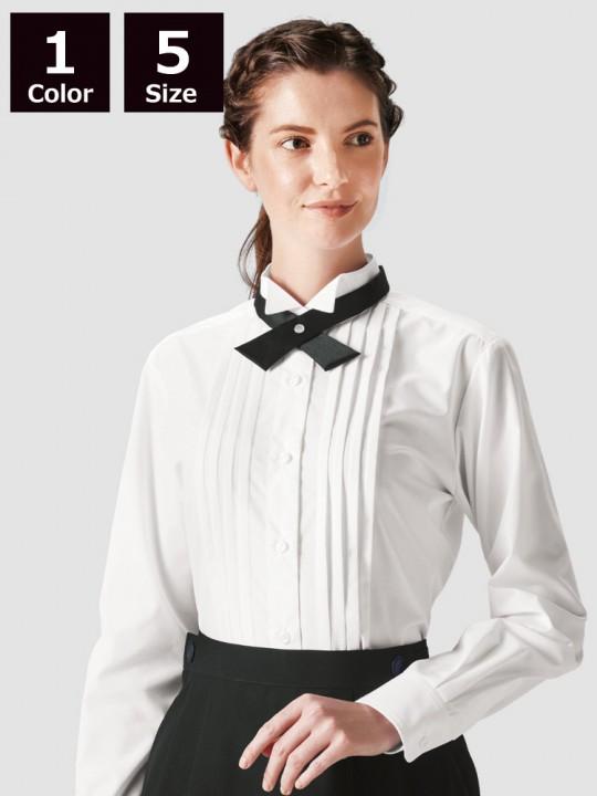 BS-14220 ウィングカラーシャツ(レディース) 着用イメージ