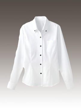 BS-34205 ボタンダウンシャツ トップス  ホワイト 白