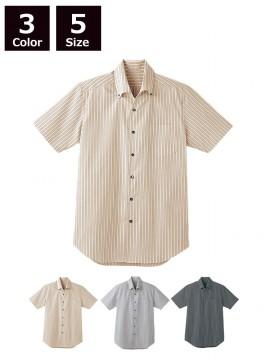 BS-23301 ボタンダウンシャツ  モデル着用