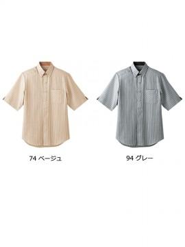 BS-23303 ボタンダウンシャツ トップス カラー一覧
