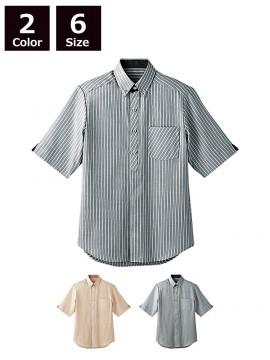 BS-23303 ボタンダウンシャツ トップス