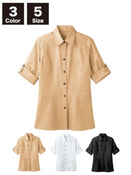BS-00101 レギュラーカラーシャツ(レディース) 商品一覧