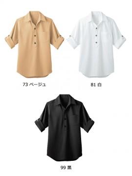 BS-00100 プルオーバーシャツ(男女兼用) カラー一覧
