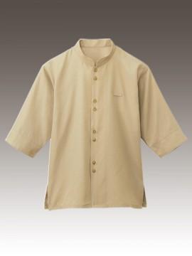 BS-24307 マオカラーシャツ ベージュ