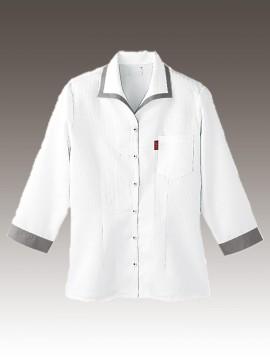 BS-34203 イタリアンカラーシャツ 拡大画像