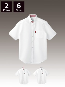 BS-33305 ボタンダウンシャツ トップス