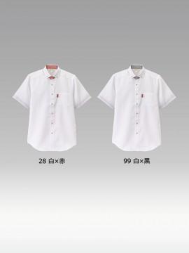 BS-33305 ボタンダウンシャツ トップス カラー一覧
