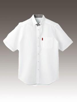 BS-33305 ボタンダウンシャツ トップス ホワイト 白