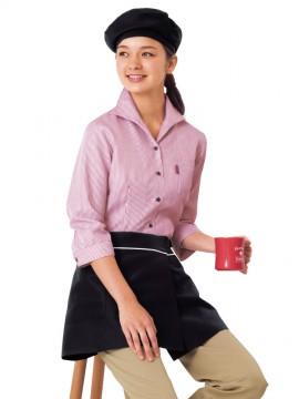 BS-34201 イタリアンカラーシャツ モデル画像