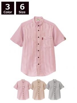 BS-33302 スタンドカラーシャツ