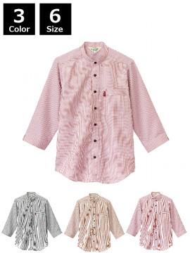 BS-34301 スタンドカラーシャツ