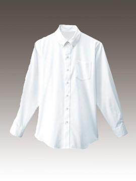 BS-34106 ボタンダウンシャツ トップス ホワイト 白