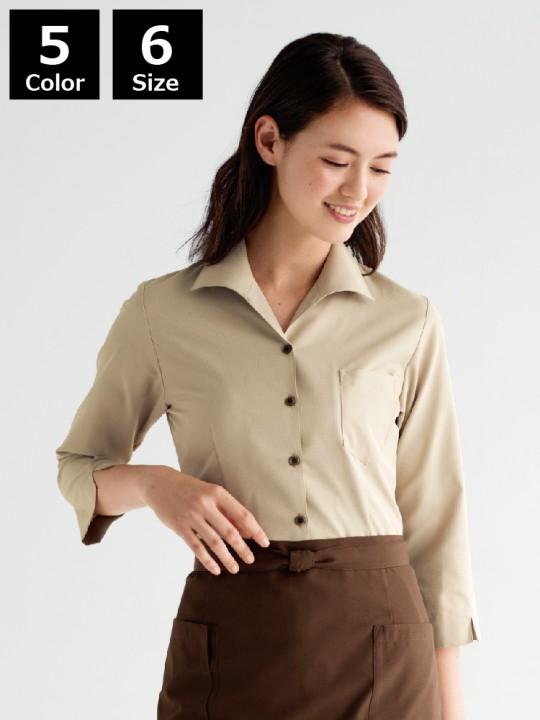 BS-34208 イタリアンカラーシャツ