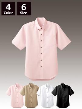 BS-33308 ボタンダウンシャツ トップス