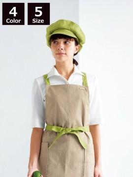 BS-00103 ニットワッフルシャツ 七分袖(レディース) 着用イメージ