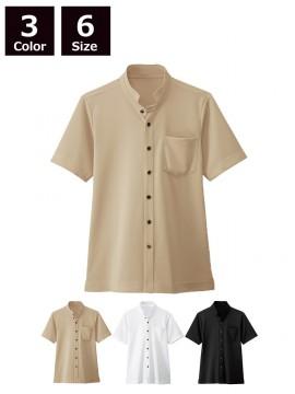 BS-23304 スタンドカラーシャツ(男女兼用) 商品一覧