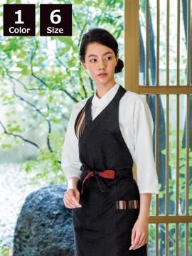 BS-09901 エスニックシャツ(男女兼用) 着用イメージ