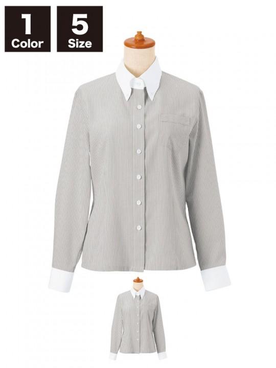 【14201】ボタンダウンシャツ(レディース)
