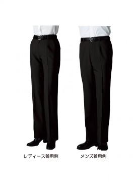 BS-22303 パンツ(裾上げ機能付) 着用例