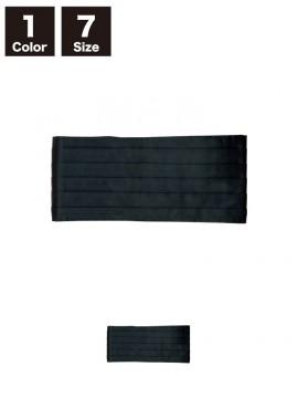BS-01015 マジック付カマーバンド(メンズ) 黒