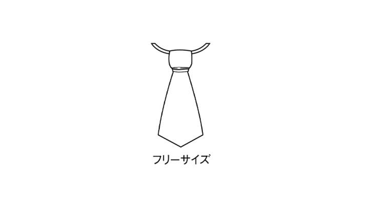 BS-98315 ネクタイ サイズ表