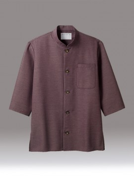 CK-2711 シャツ(七分袖) パープル