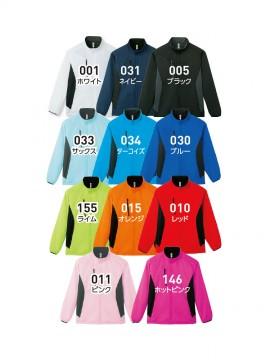 WE-00236-FSC 裏フリース ストレッチジャケット カラー一覧