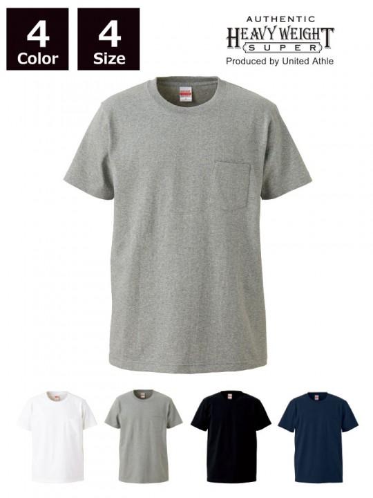 オーセンティック スーパーヘヴィーウェイト 7.1オンス Tシャツ(ポケット付)
