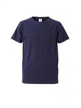 4.7oz ファインジャージーTシャツ(ポケット付)