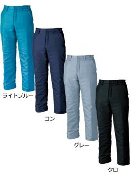 XB377 防寒パンツ カラーバリエーション