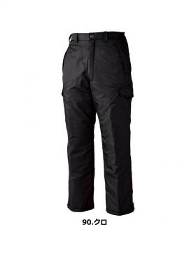 XB890 防寒パンツ カラー一覧