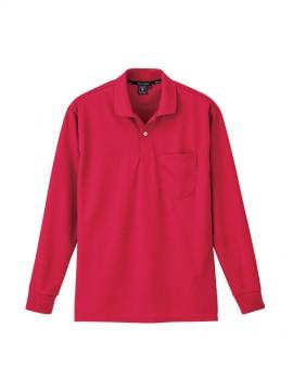 XB6035 長袖ポロシャツ 拡大図