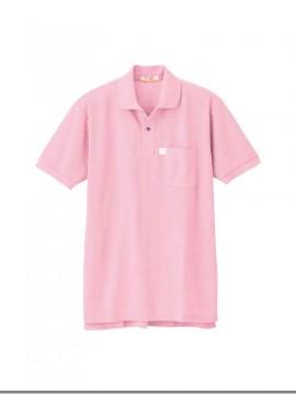 XB6150 リサイクリーン半袖ポロシャツ 拡大図 ピンク