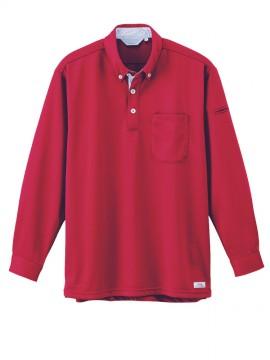 XB6185 長袖ポロシャツ 拡大図