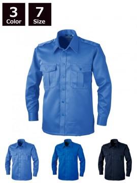 18201 長袖シャツ 全体図