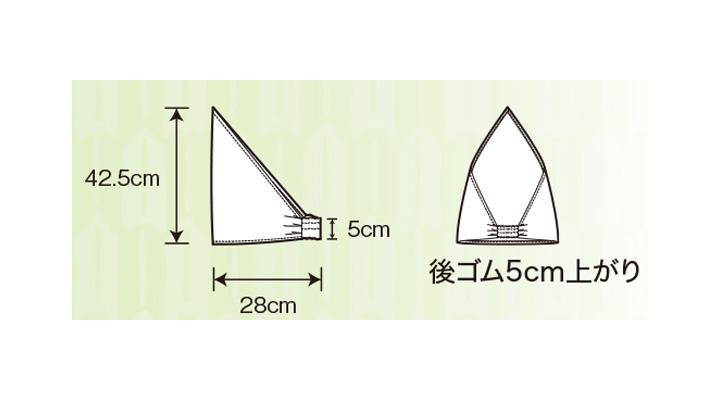 25705 三角巾 サイズ表