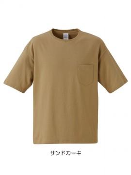 CB-5008 5.6オンス ビッグシルエット Tシャツ(ポケット付) 拡大画像